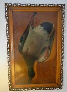 Nice Pair Of Original 19th C. Oil On Panel Game Bird Paintings Signed E. Frerot