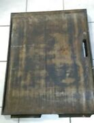 Cast Iron Griddle Concession Flat Top Bbq Camping Fireplace Restaurant Kitchen