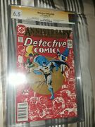 Signed Detective Comics 526 Cgc Ss 6.5 Jerry Conway - Death Jason Toddand039s Parent