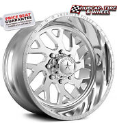 American Force Lucky Ss8 Polished 20x12 Truck Wheels Rims 8 Lug Set Of 4