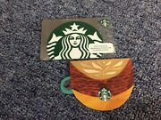 Starbucks Gift Card Autumn Mini Cup And Silver Siren 2018 Indonesia Version