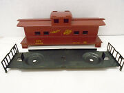 Custom Painted American Flyer S Scale Candnw Caboose Body And Chassis Only No Truc