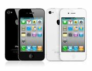 Unlocked Apple Iphone 4 Black White 8/16/32gb Atandt A1332 Gsm T-mobile