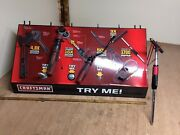 Rare Craftsman In Store Tool Display With Tools