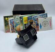 Vintage Sawyer's View-master And 29 Included Reels With Original Hard Box