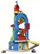Fisher-price Little People Sit 'n Stand Skyway New 2 Wheelies Gas Pump Toy