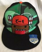 Domo Flatbill Snapback Cap/hat New Wearing Beer Can Hat Party One Size
