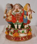 Fitz And Floyd 2000 Twelve Days Of Christmas 1 Of 2 12 Pipers Piping Candleholder