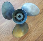 Michigan Propeller Ssv-211-c Lh Used Stainless Steel Fits Volvo 14.5 X 21
