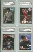 Tiger Woods 1997 Heroes Of The Game Hog Diamond Edition All Graded Gem Mint 10