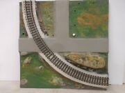Original American Flyer All Aboard 26101 Curved Track Panel And Catalog