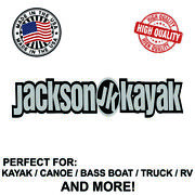 Jackson Kayak Decal Sticker For Kayak Canoe Truck Bass Boat Rv And More