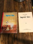 Imperial Glass By Richard And Wilma Ross 1971 Spiral Bound