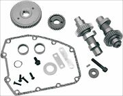 Sands Cycle 640g Grind Gear Drive High Lift Cam Kit .640 Harley Twin Cam 07-16