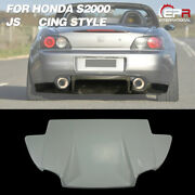 For Honda S2000 Js-style Frp Unpainted Rear Under Diffuser Addon Bodykits