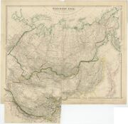 Antique Map Of Northern Asia By Arrowsmith 1834