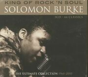 Solomon Burke - King Of Rock And Soul - The Ultimate Collection 1961-2010 3-cd...