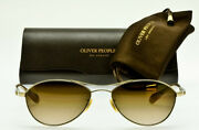 New Oliver Peoples Thornhill G Limited Edition 22k Gold Brown Vfx Photochromic