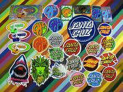 New And Sold Out Santa Cruz Skateboards Sticker - Oj Dot And Other Reissues