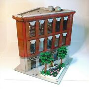 Lego Custom Modular Building - City Bank Exclusive - Only Pdf Instructions
