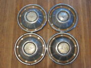 Vintage 1969 69 Chevrolet Chevy Impala 14 Inch Hubcap Wheelcover Set 4 X3-1903