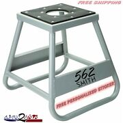 Professional Dirtbike Stand Motorcycle Motocross Mx Lift Custom Racing Pit Track