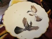 Royal Worcester The Birds Of Dorothy Doughty Plate Blue Grey Gnatcatchers