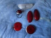 A Lot Of Vintage Tail Lights Chevy Ford Chrysler 1940and039s 1950and039s