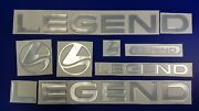 Legend Boat Emblem 32 + Free Fast Delivery Dhl Express - Raised Decal Stickers