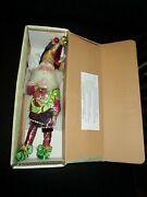Sealed Mark Roberts Limited Christmas Holiday Merriment Fairy Small 51-68574 Elf