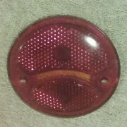 Tiger Ey Tail Light Glass Lens Do-ray Lamp Co 3.75 Part 1145 S. G. Co.