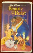 Rare Collectible Black Diamond The Classics Beauty And The Beast Vhs W/sticker