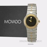 Authentic Movado Womenand039s Sports Edition Black Dial Watch 0604486