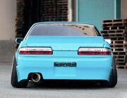 Bunny Style Add-on Rear Trunk Lid Wing Spoiler For 89-94 Nissan 240sx S13 2dr