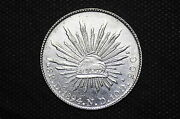 Mexico - Republic 1894 Do Nd 8 Reales Silver Coin Weight 26.97 G C50
