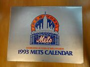 1993 New York Mets Calendar With Schedule 30 Years At Shea Flushing New York