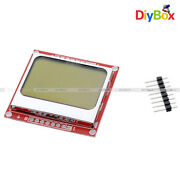 1/2/5/10pcs 84x48 Lcd Pcb Module Blue Backlight Adapter Nokia 5110 For Arduino
