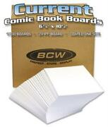Bcw Current Comic Backing Board Box 1000 Wrapped 10x100 Acid Free 24pt 6.75x10.5