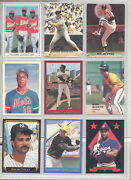 1988 Super Oddball Baseball Cards From 23 Different Sets Rare You Pick