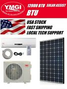 Ymgi 12000 Btu Solar Assist Ductless Mini Split Air Conditioner With Hp Njtw