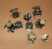 Ea6c15015 Lot Of 9 Misc Starter Solenoids Mercruiser And Others 65057a165057t1