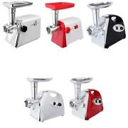 2800w Electric Meat Grinder Home Kitchen Max Stainless Steel Maker Kit 5 Types