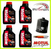 Kawasaki Concours Abs Zg1400a 2008–2017 100 Synthetic Oil Filter Kit