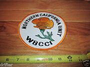 Large Northern California Ca Unit Wbcci Embroidered Patch Patches 2