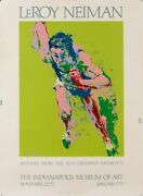 Original Vintage Poster Leroy Neiman Sketches From The 20th Olympiad-munich