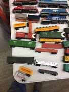 Ho Train Set Engines Rolling Stock Controllers And Lots Of Track