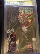 Cgc 9.8 Legendary Star-lord 1 Game Stop Greg Horn Remark Sketch Guardians