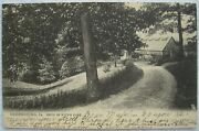 Greensburg Pa North Maple Ave. Drive In Huffand039s Park Udb Tuck Postcard C.1905