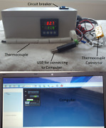 Usb Pc Plug And Play Pid 60 Ramp And Soak Time Kiln Temperature Controller Recorder