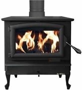 Buck Stove Fp-21-p Non-catalytic Wood Burning Stove W/ Pewter Door